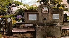Das Drei-Monarchen-Denkmal in Dornheim