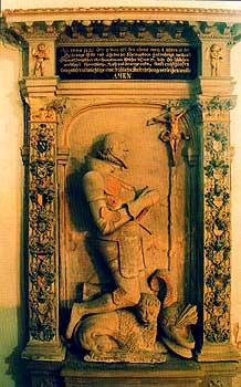 Epitaph des Ritters Christoph von Entzenberg