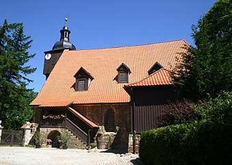 Die Traukirche von J. S. Bach in Dornheim