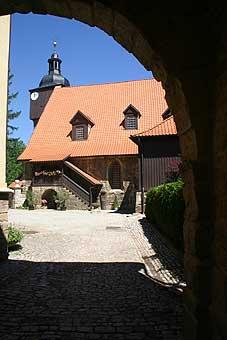 Die Dornheimer Traukirche